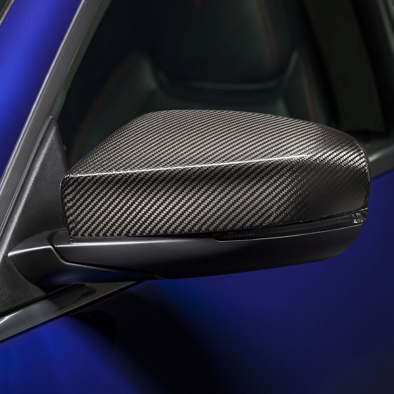 Maserati Ghibli - Exterieur - Seitenspiegel - Nerissimo Carbon Pakete