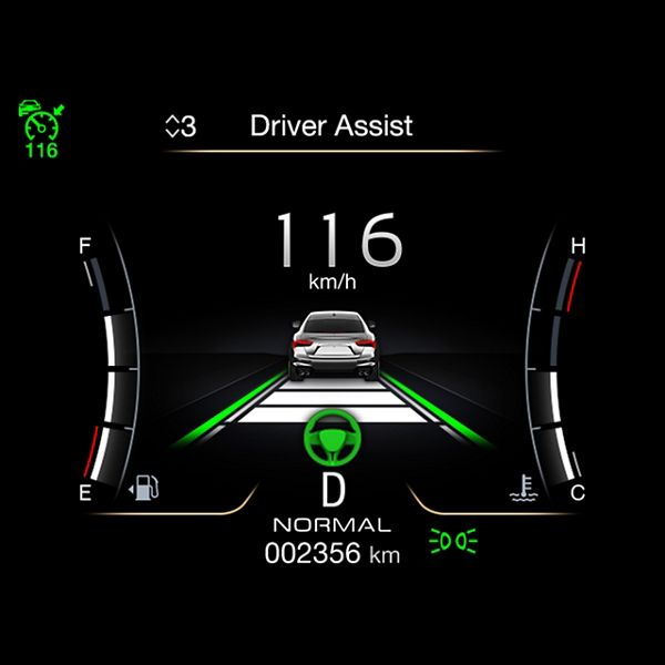 Maserati Stauassistenz: Driver Assist