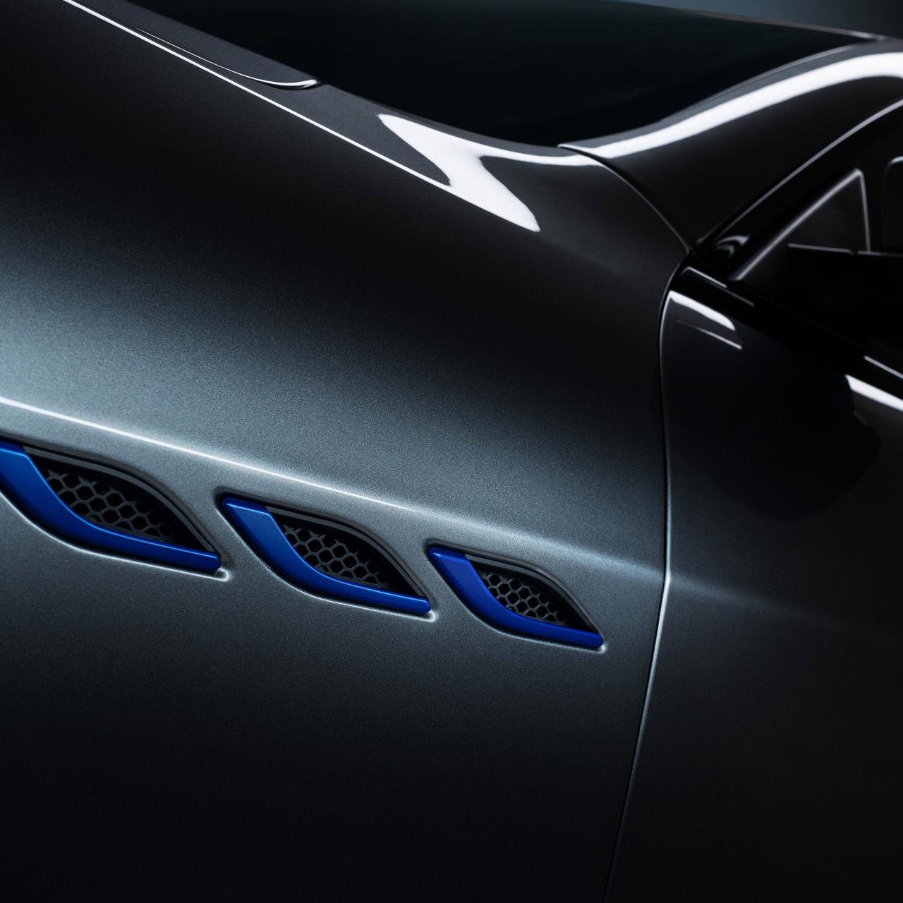 Maserati Ghibli Hybrid - Seitliche Lufteinlässe