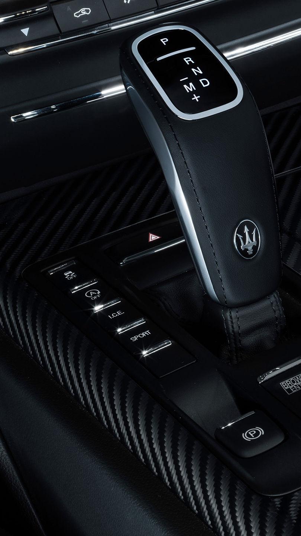 Maserati Ghibli Hybrid - Interieur - Fahrmodi