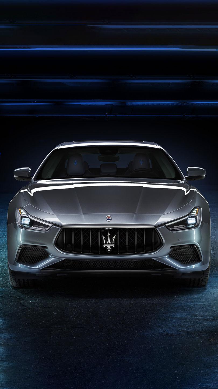 Maserati Ghibli Hybrid - Grau - von vorne