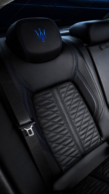 Maserati Ghibli - Rücksitze - Detailansicht