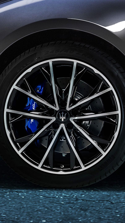 Maserati Ghibli Rad - Felge und Bremsscheibe