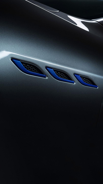 Maserati Ghibli Hybrid - Drei seitliche Lufteinlässe