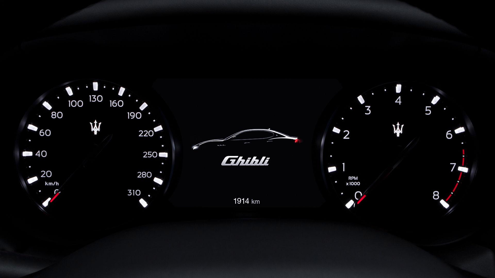 Maserati Ghibli - Armaturenbrett - Tachometer - Design