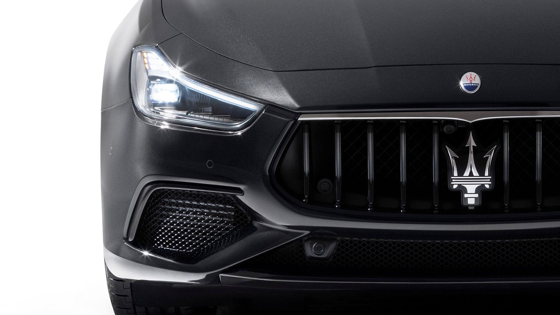 Maserati Ghibli - Kühlergrill und Scheinwerfer - Design