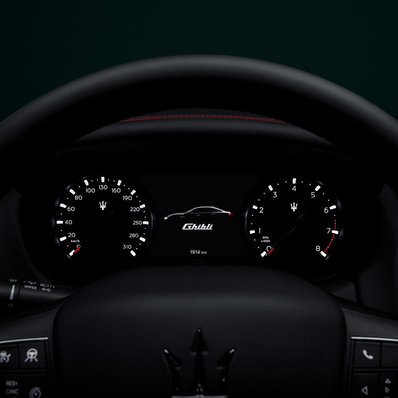 Maserati Ghibli - Design - Armaturenbrett