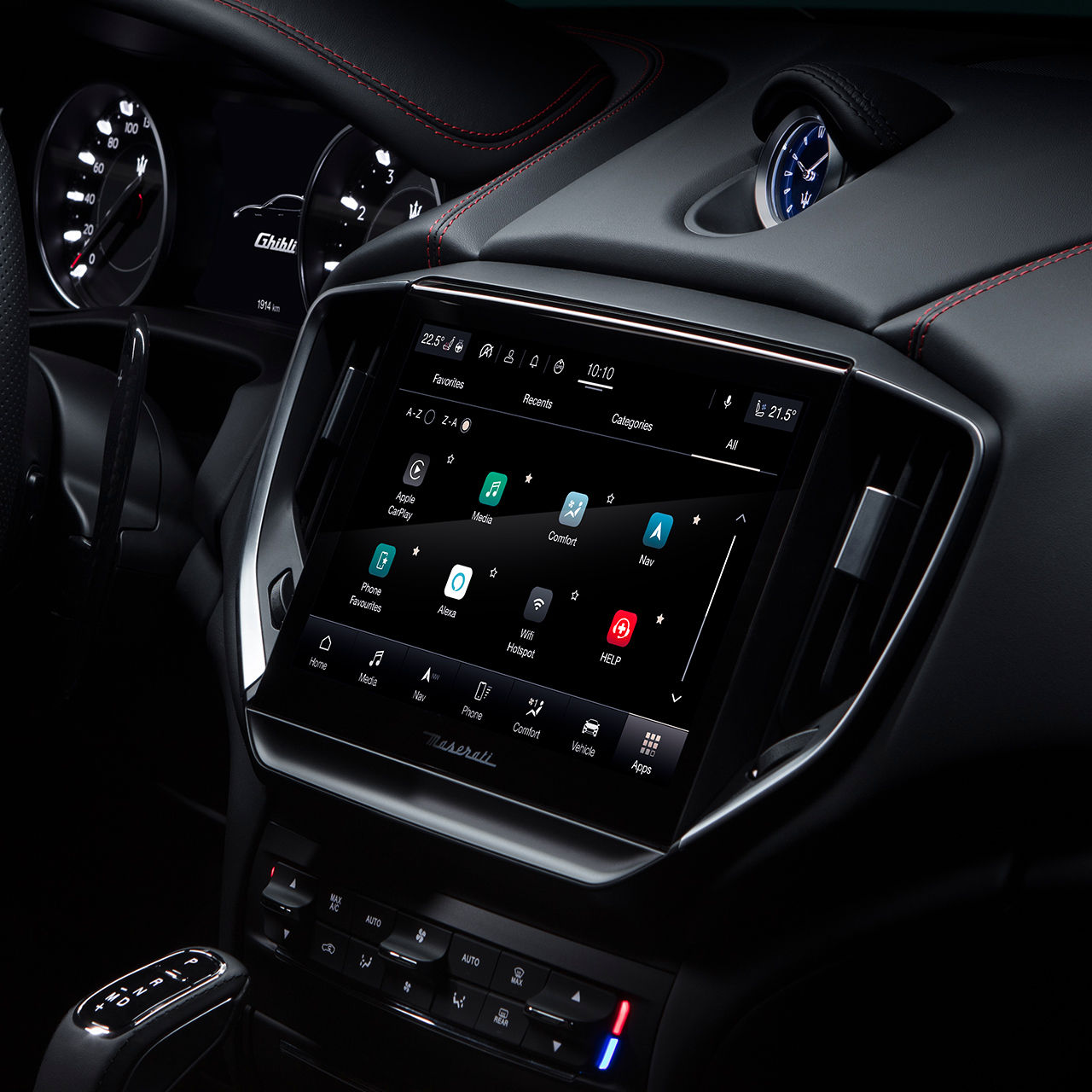 Maserati Ghibli - Maserati Connect - Display