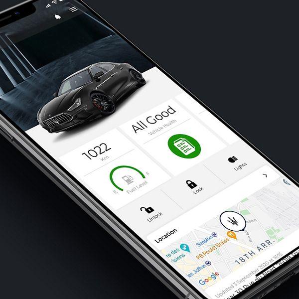 Maserati Connect: Verbinden Sie Ihren Ghibli mit Ihrem Handy