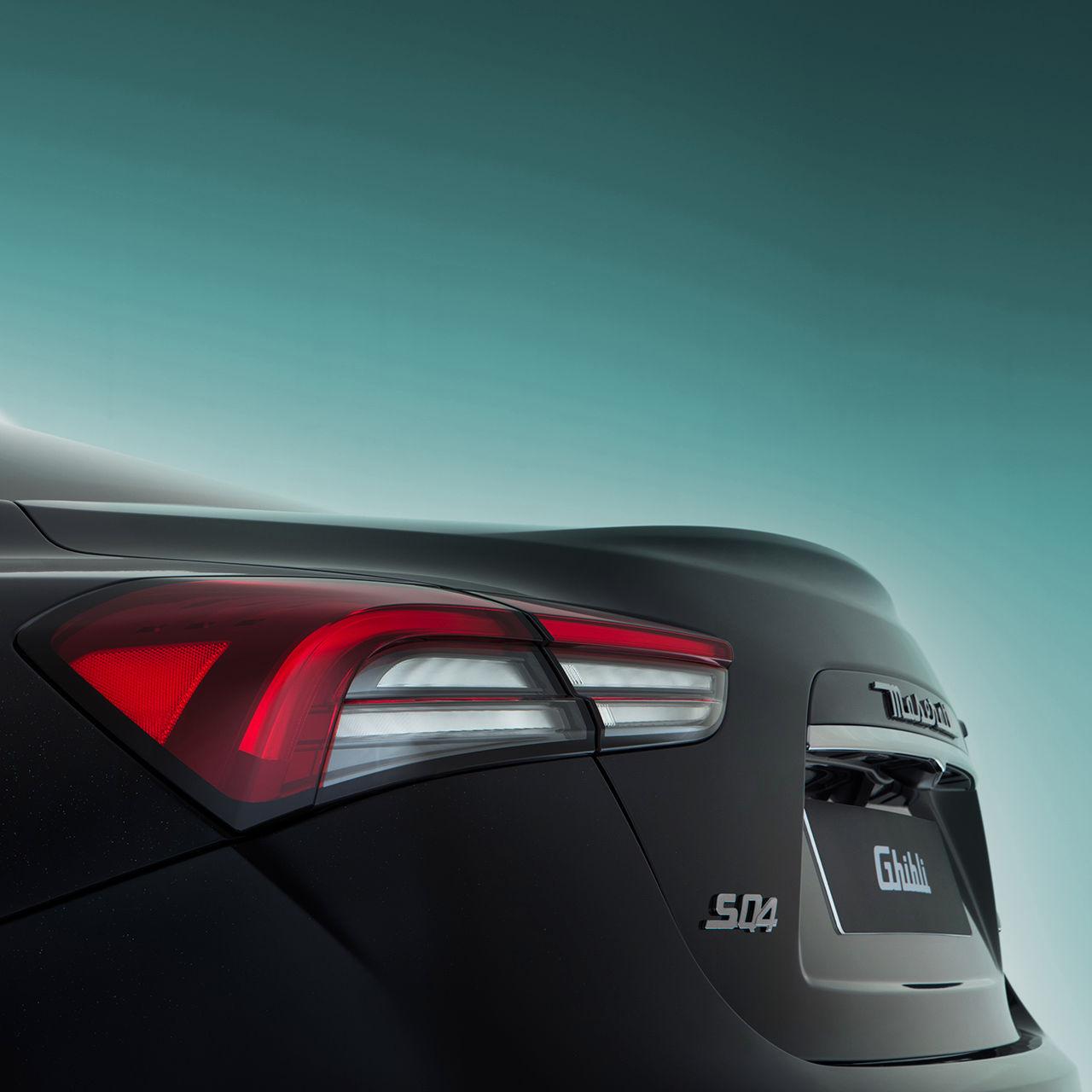 Maserati Ghibli - Scheinwerfer hinten - Design