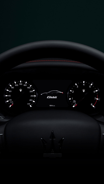 Maserati Ghibli - Design - Kombiinstrument