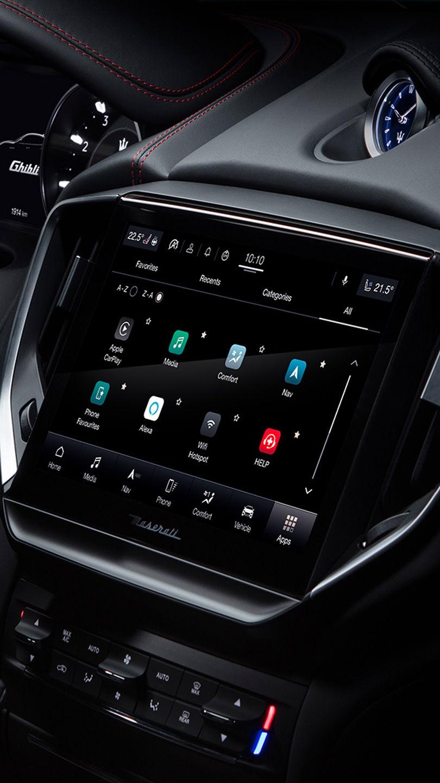 Maserati Ghibli - Interieur - 2/4-Zonen Klimaanlage