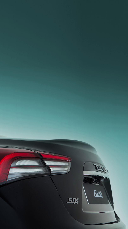 Maserati Ghibli - Schwarz - Rücklicht