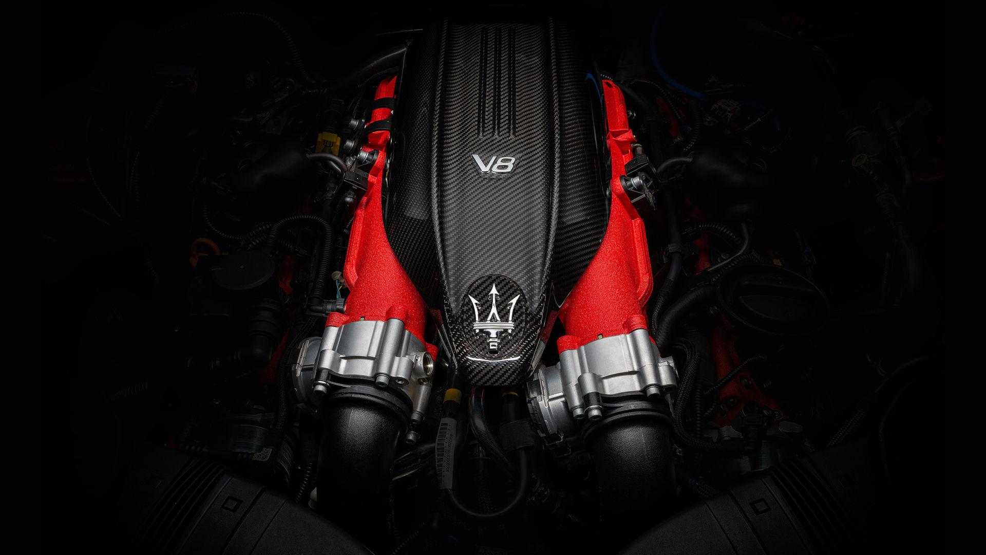 Maserati Ghibli Trofeo - Rot - V8-Motor