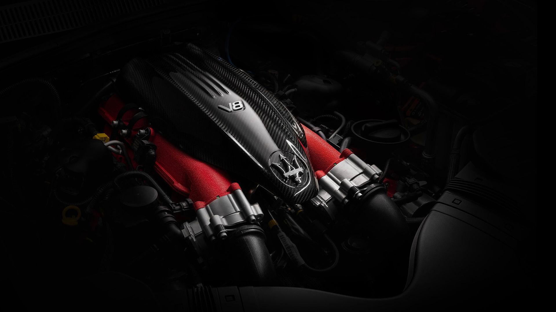 Maserati Ghibli Trofeo - V8 Motor