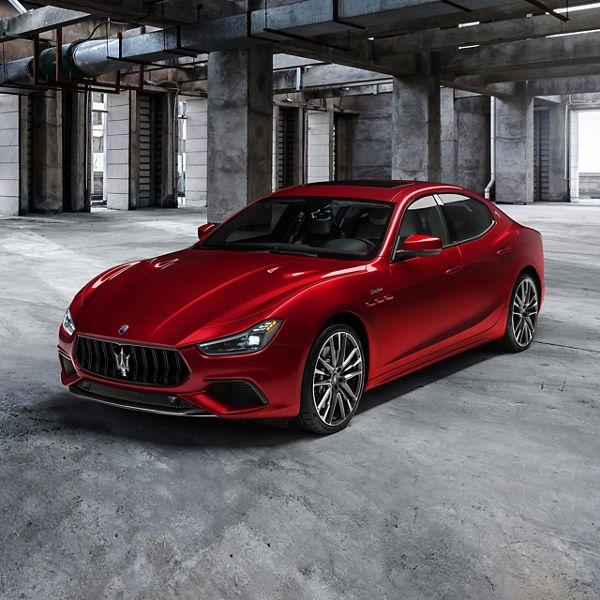 Maserati Ghibli Trofeo in Rot: der schnellste Ghibli