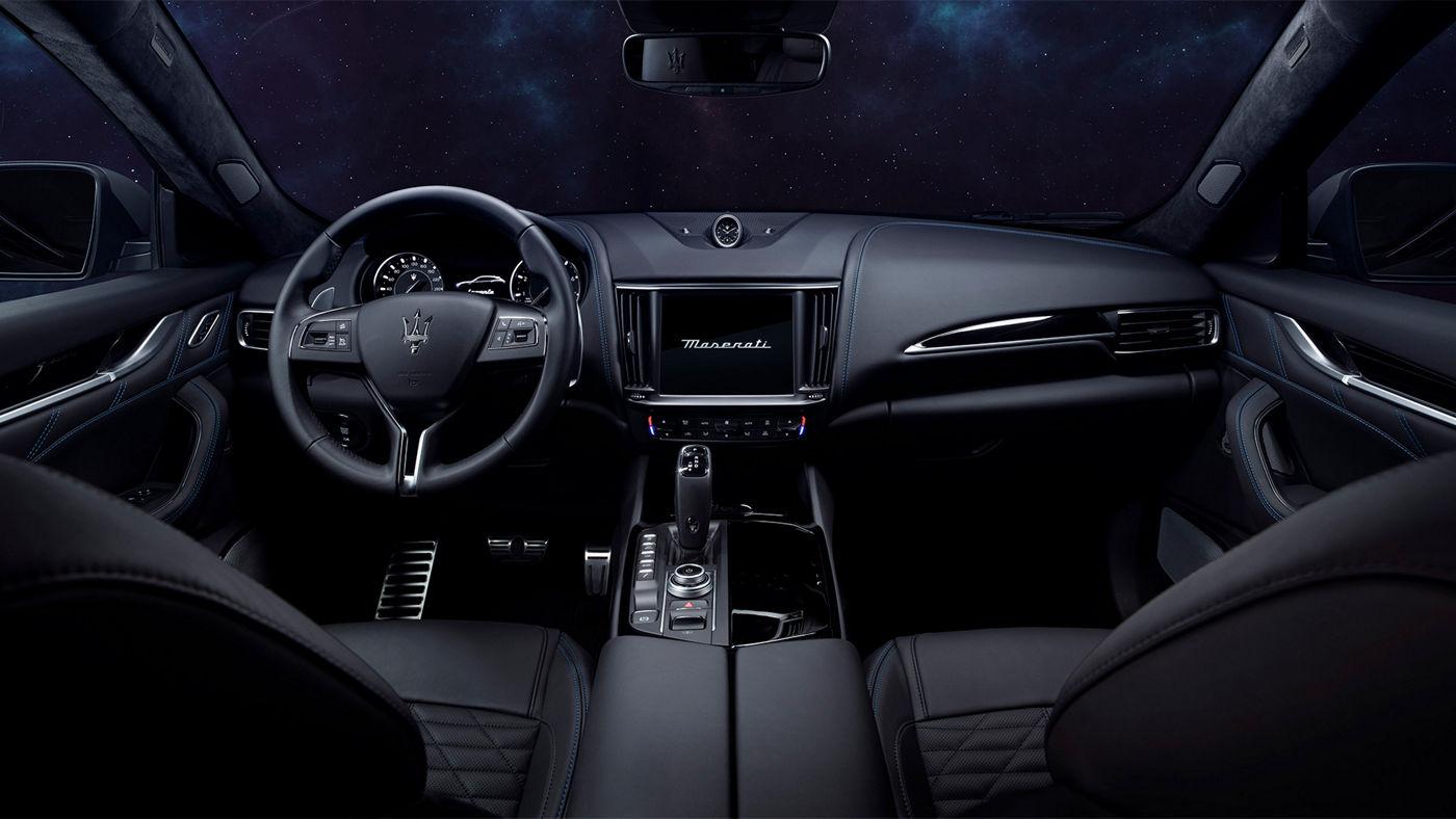 Maserati Levante Hybrid: Cockpit - Interieur