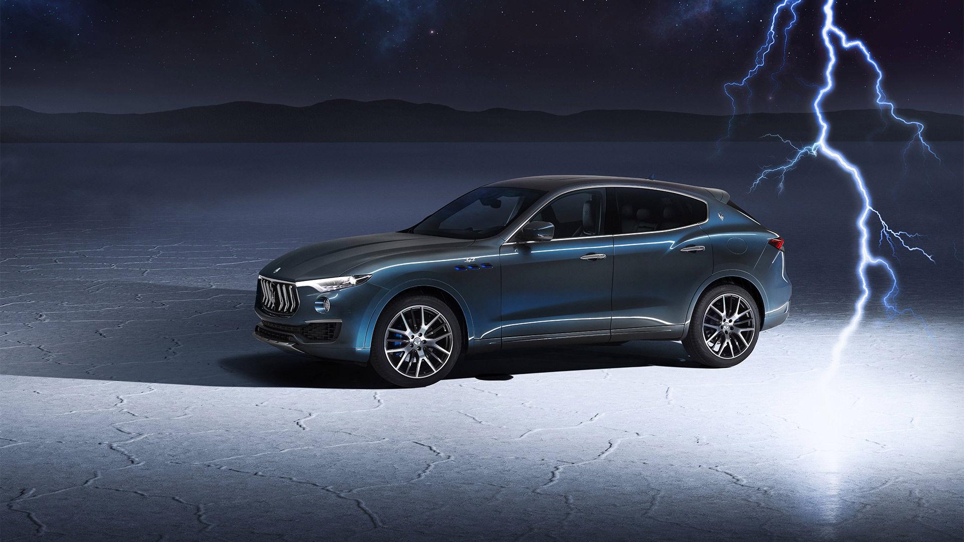 Maserati's neuer Hybrid SUV: der Levante Hybrid