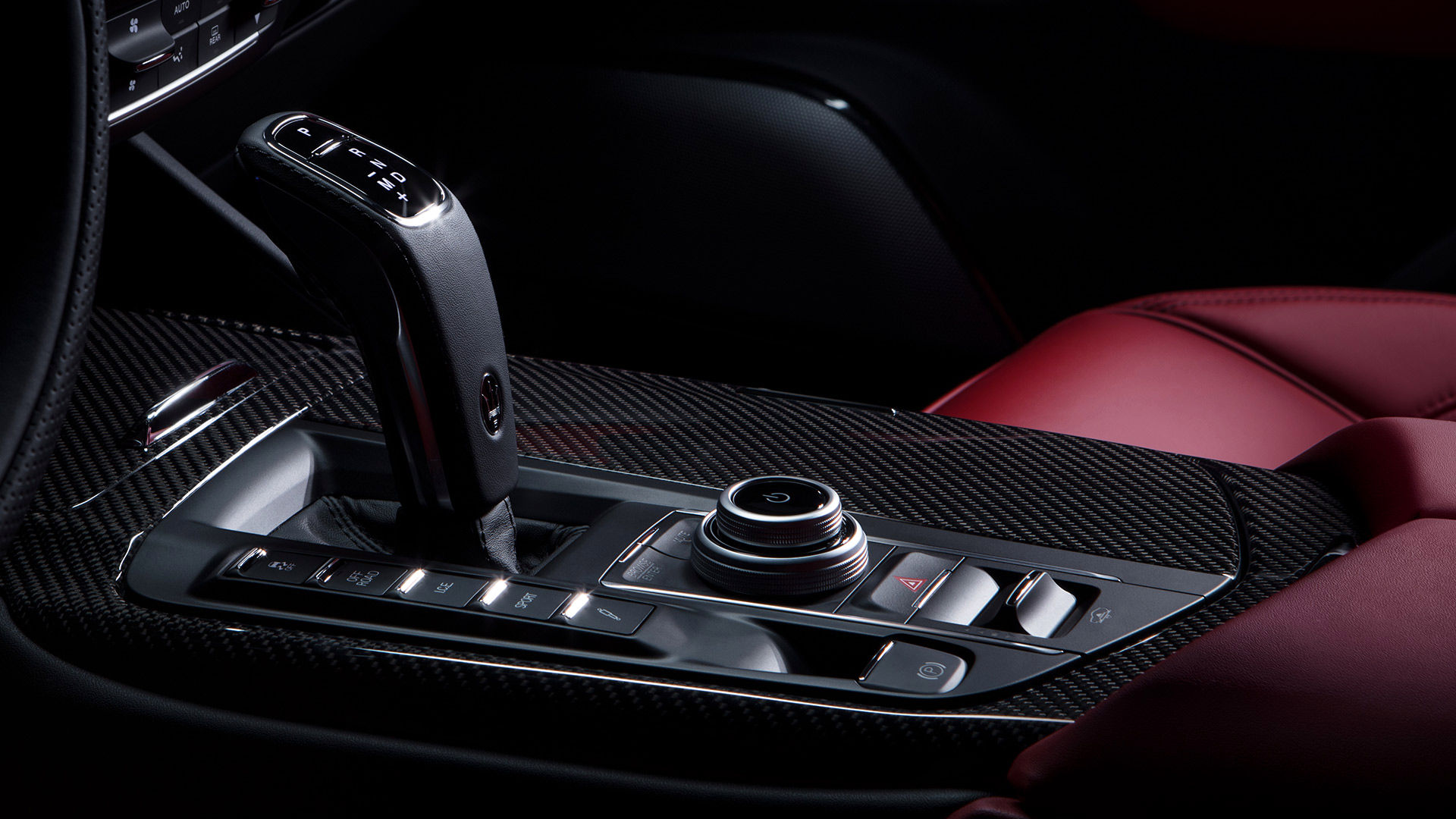 Maserati Levante - Automatikgetriebe - Detailansicht