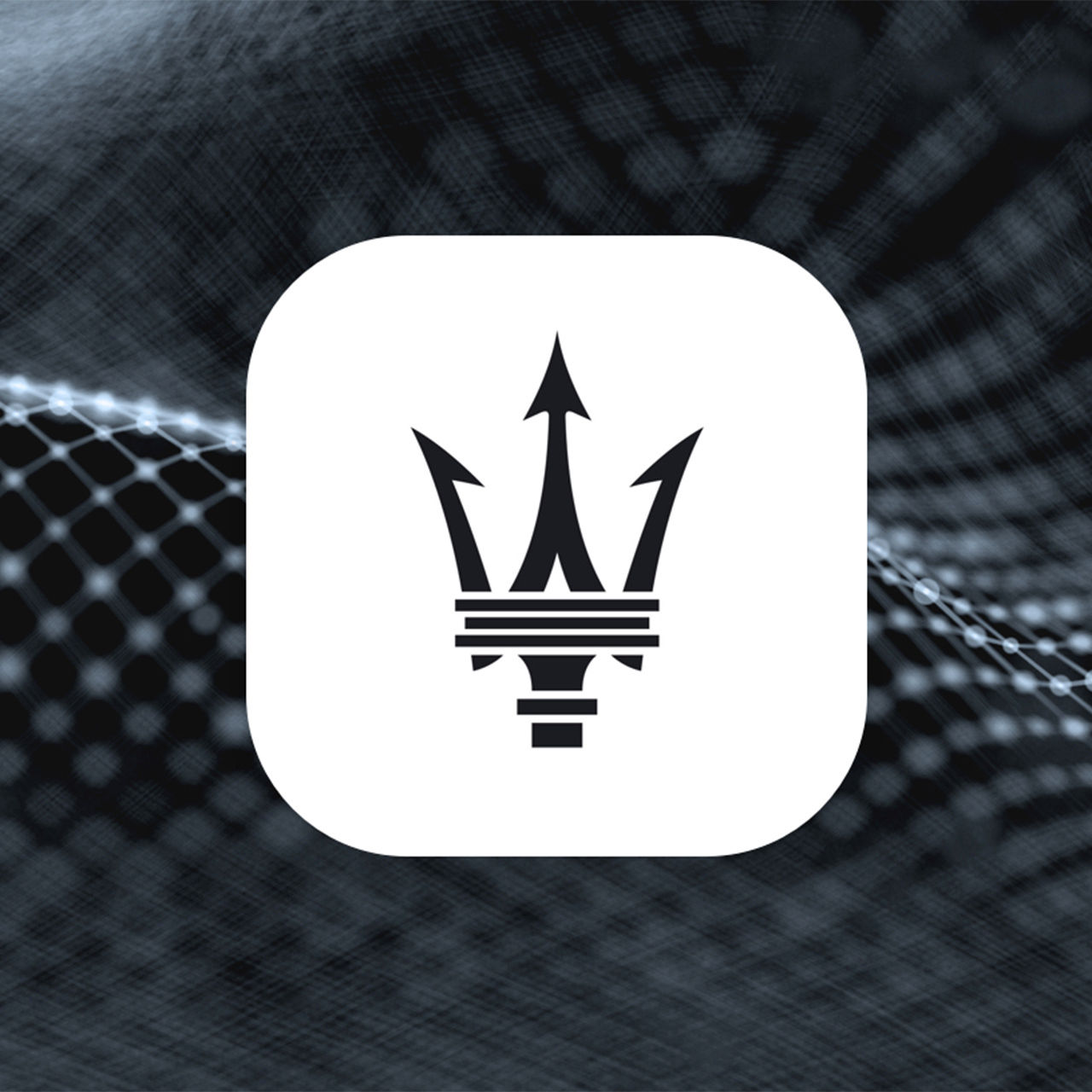 Maserati Connect Logo Interieur