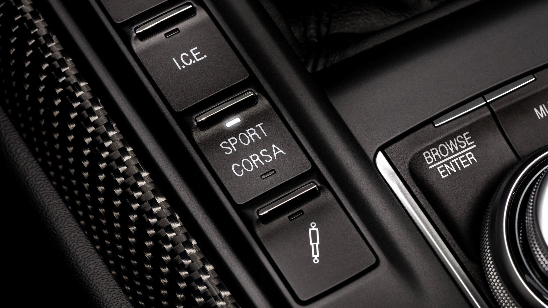 Maserati Levante Trofeo - Sport Corsa Fahrmodus