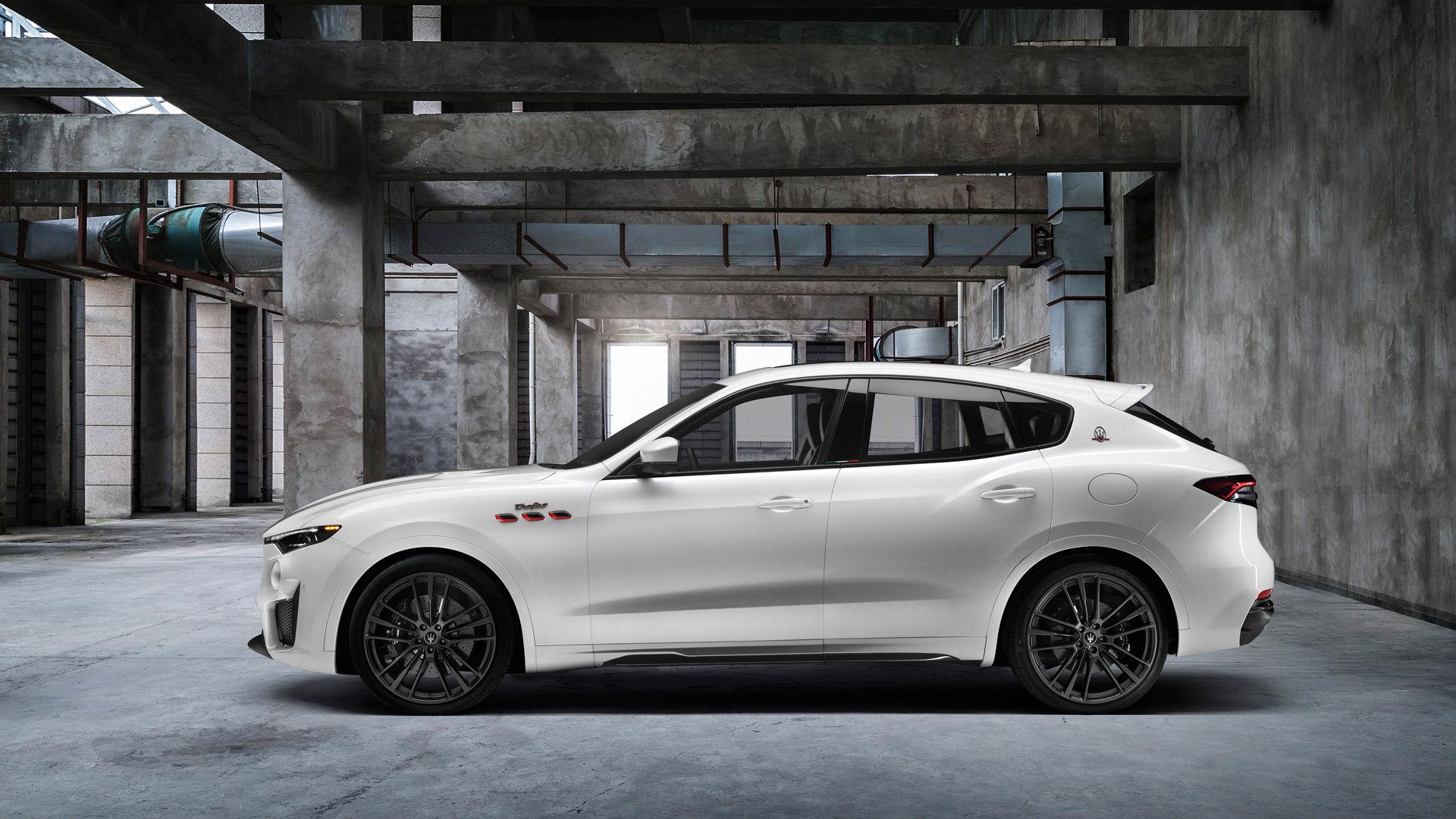 Maserati Levante Trofeo in Weiß: Der schnellste Levante