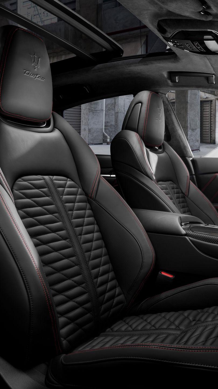 Maserati Levante Trofeo - Vordersitze aus Leder