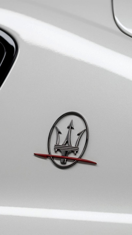 Maserati Levante Trofeo - Weiß - Dreizack Logo auf Levante