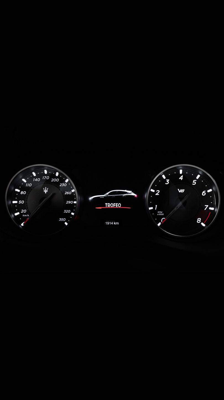 Maserati Levante Trofeo - Tachometer