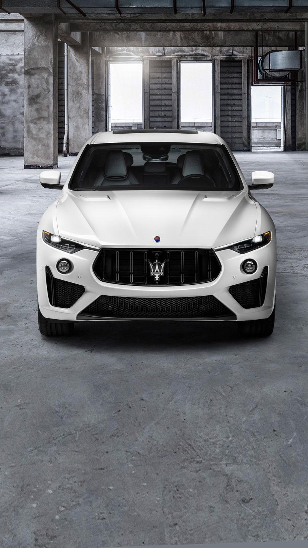 Maserati Levante Trofeo - Weiß - von vorne