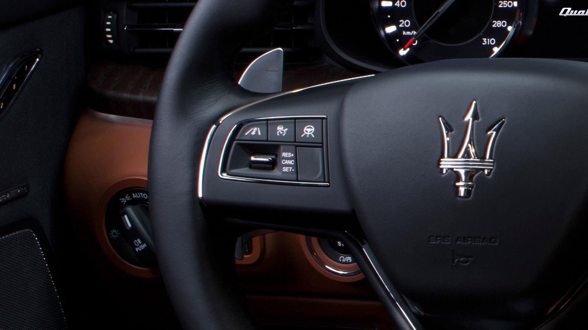 Maserati Quattroporte - Lenkrad