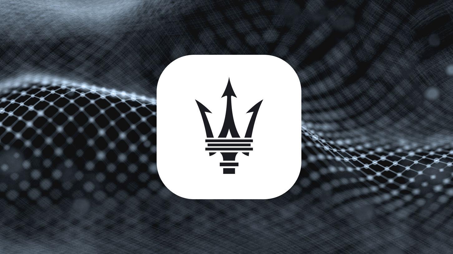 Maserati Connect Logo