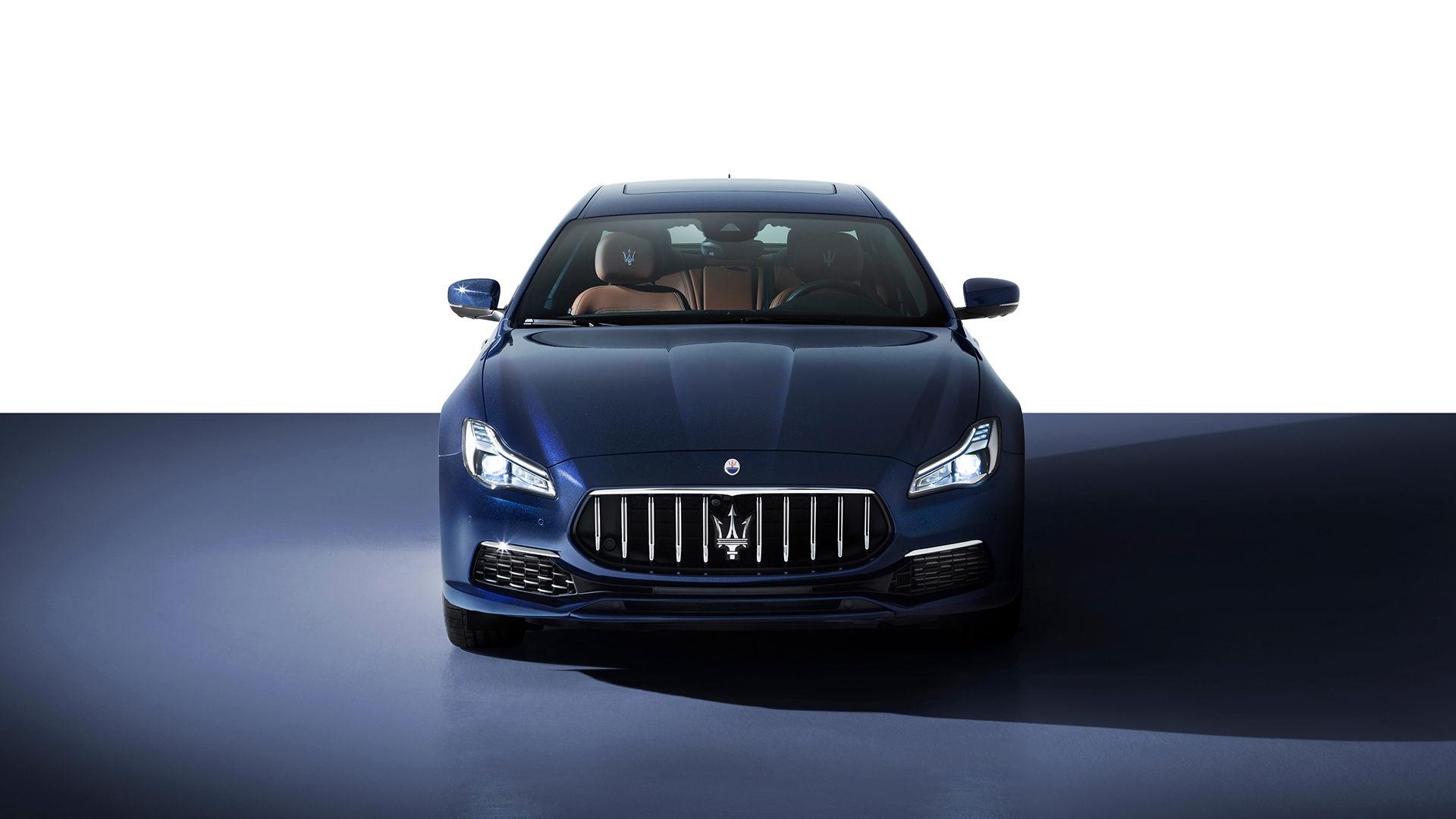 Maserati Quattroporte - von vorne