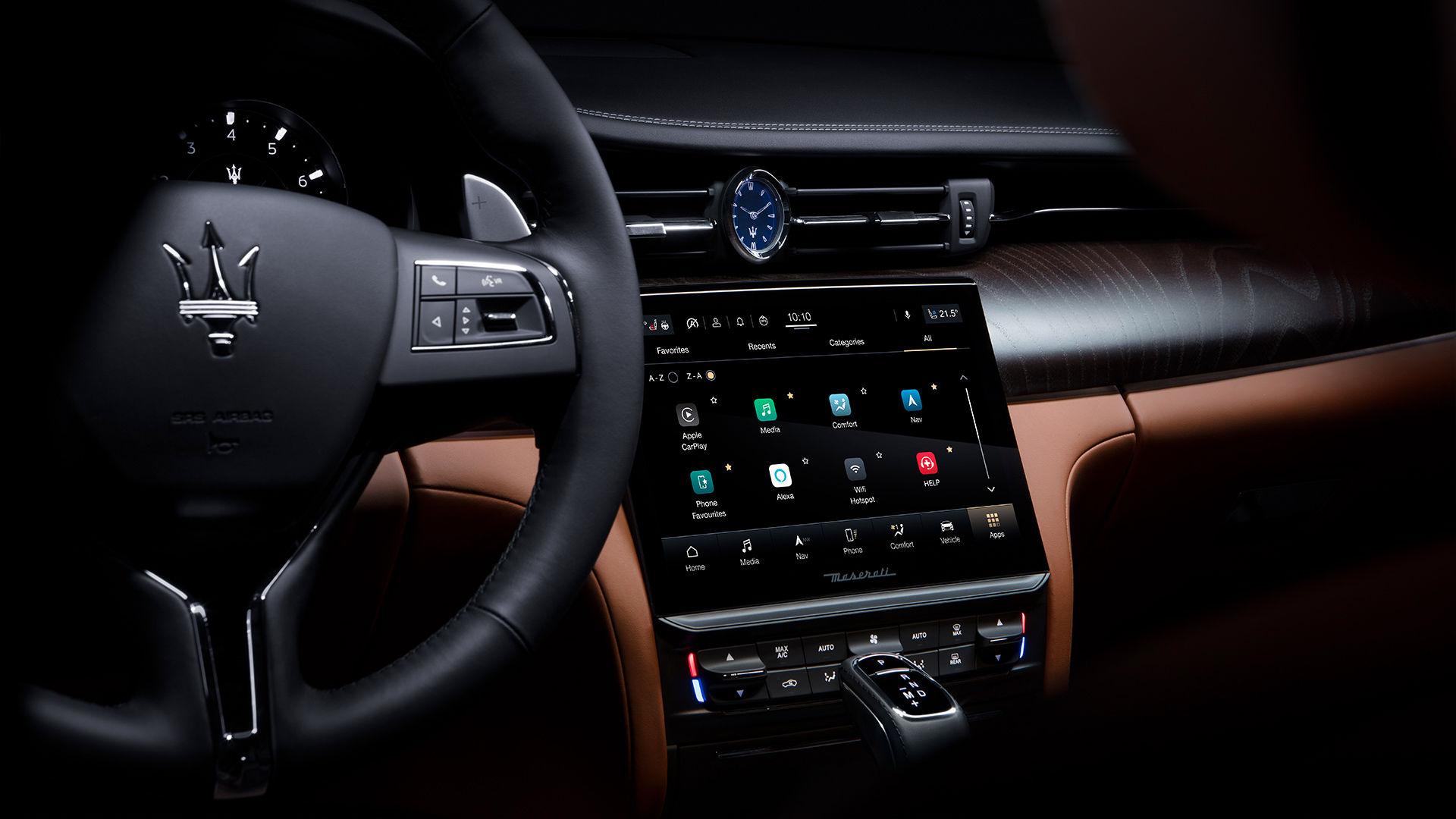 Maserati Quattroporte - Maserati Intelligent Assistant MIA