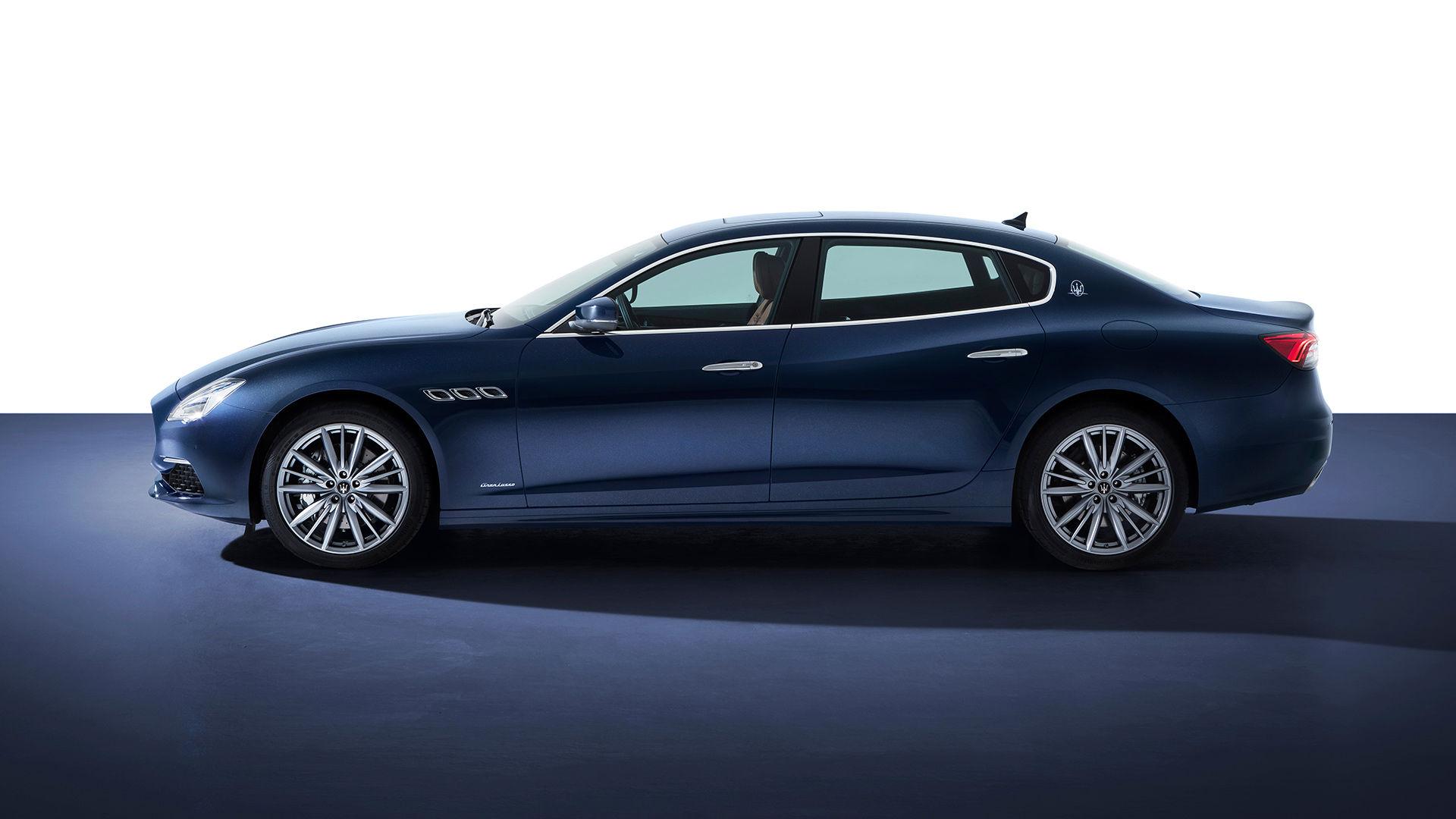Maserati Quattroporte - von der Seite - Chassis