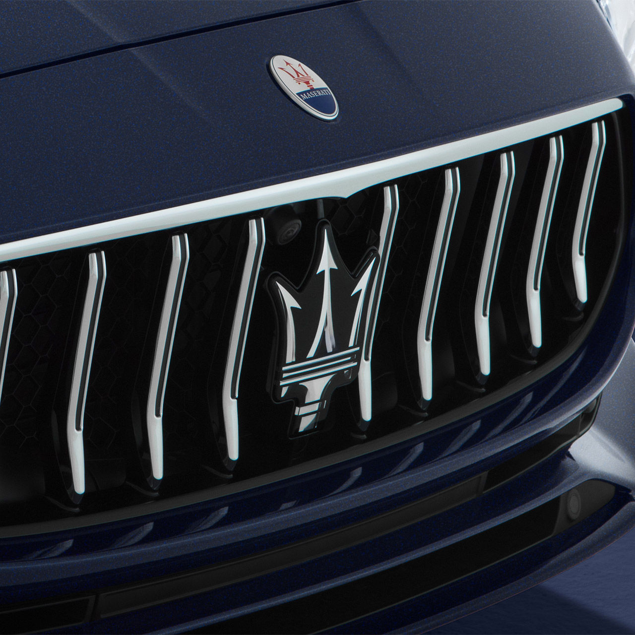 Maserati Quattroporte - Kühlergrill mit Maserati Logo