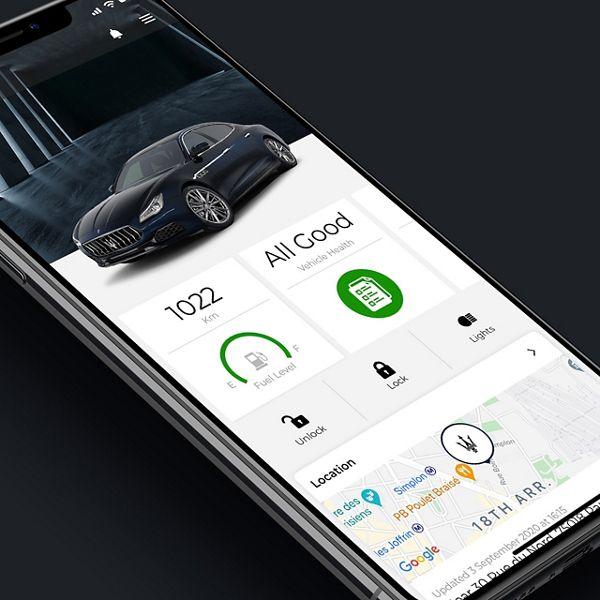 Maserati Connect: Verbinden Sie Ihren Quattroporte mit Ihrem Handy
