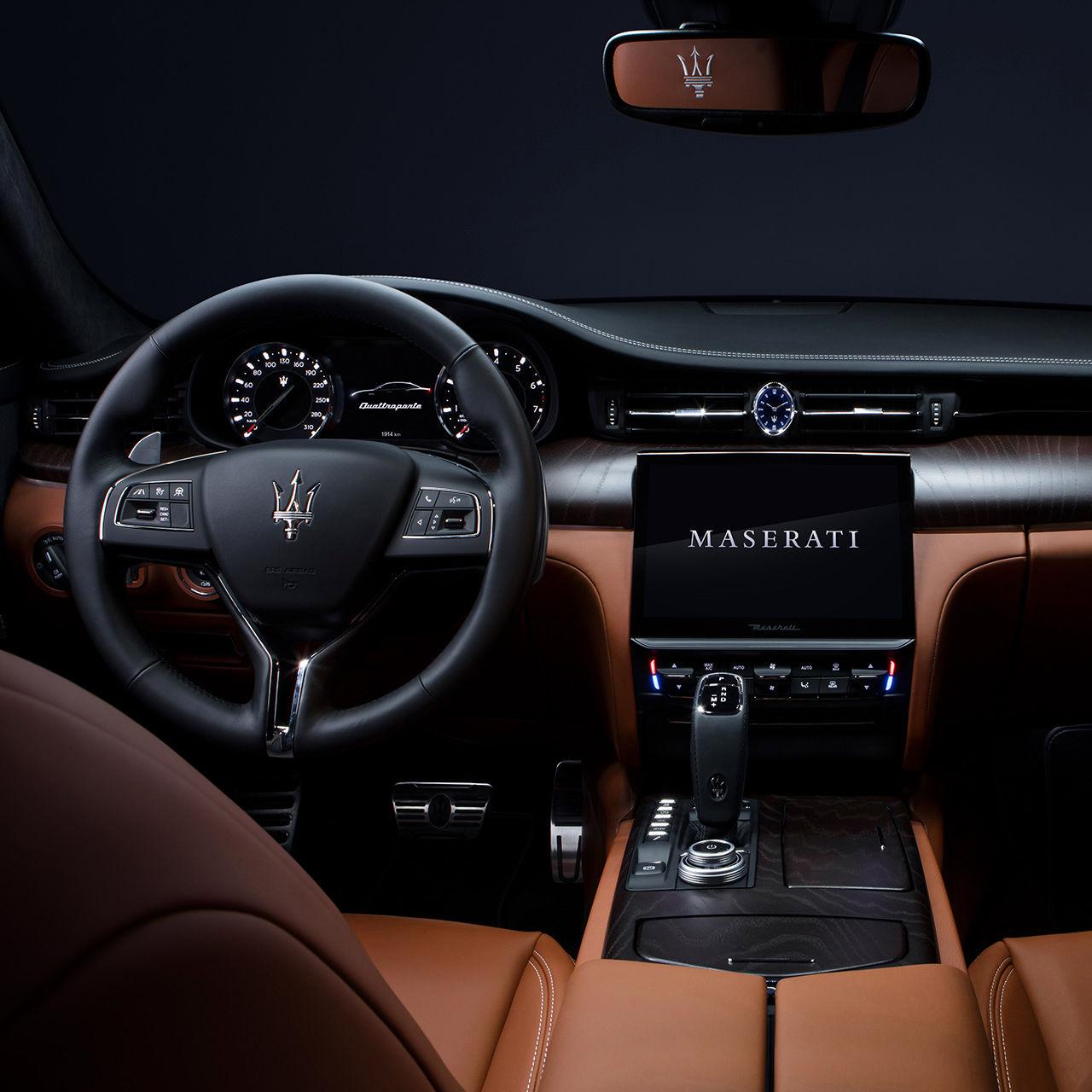 Maserati Quattroporte - Design Cockpit