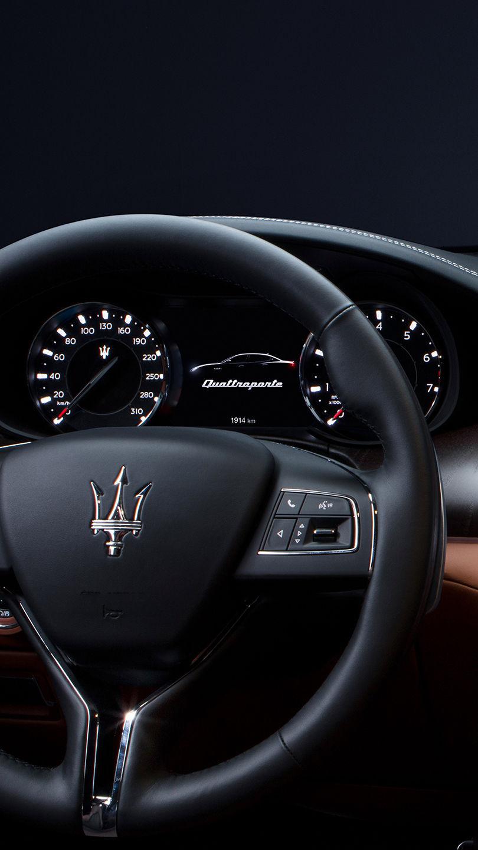 Maserati Quattroporte - Lenkrad - Interieur