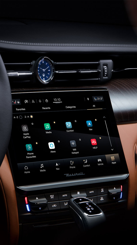 Maserati Quattroporte - Infotainment - Design