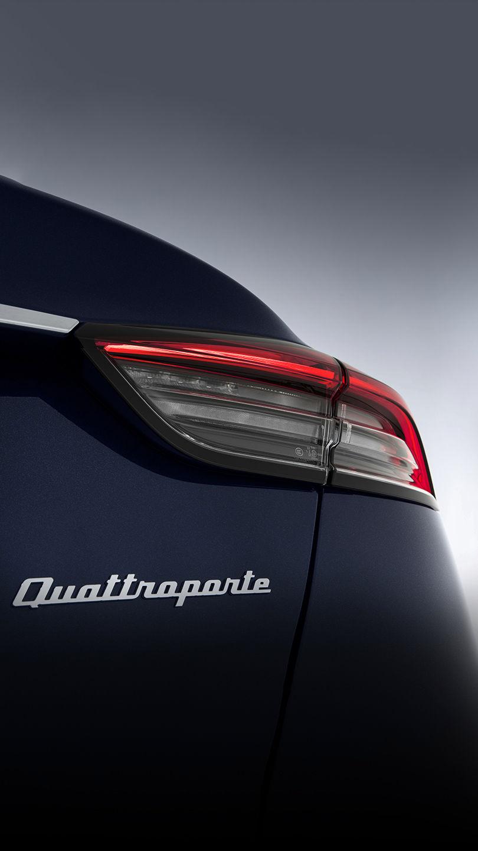 Maserati Quattroporte - Interieur - Ledersitz in Schwarz-Braun