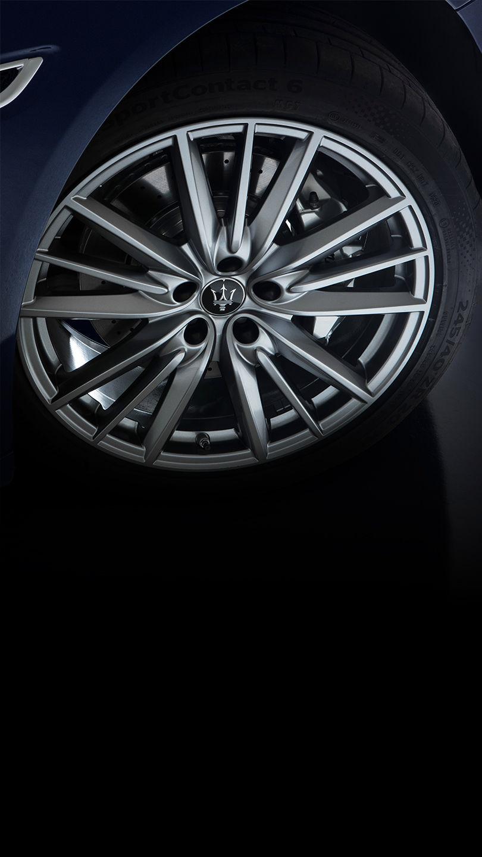 Maserati Quattroporte - Rad und Felge