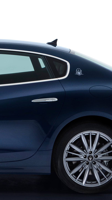 Maserati Quattroporte - Blau - Türgriff