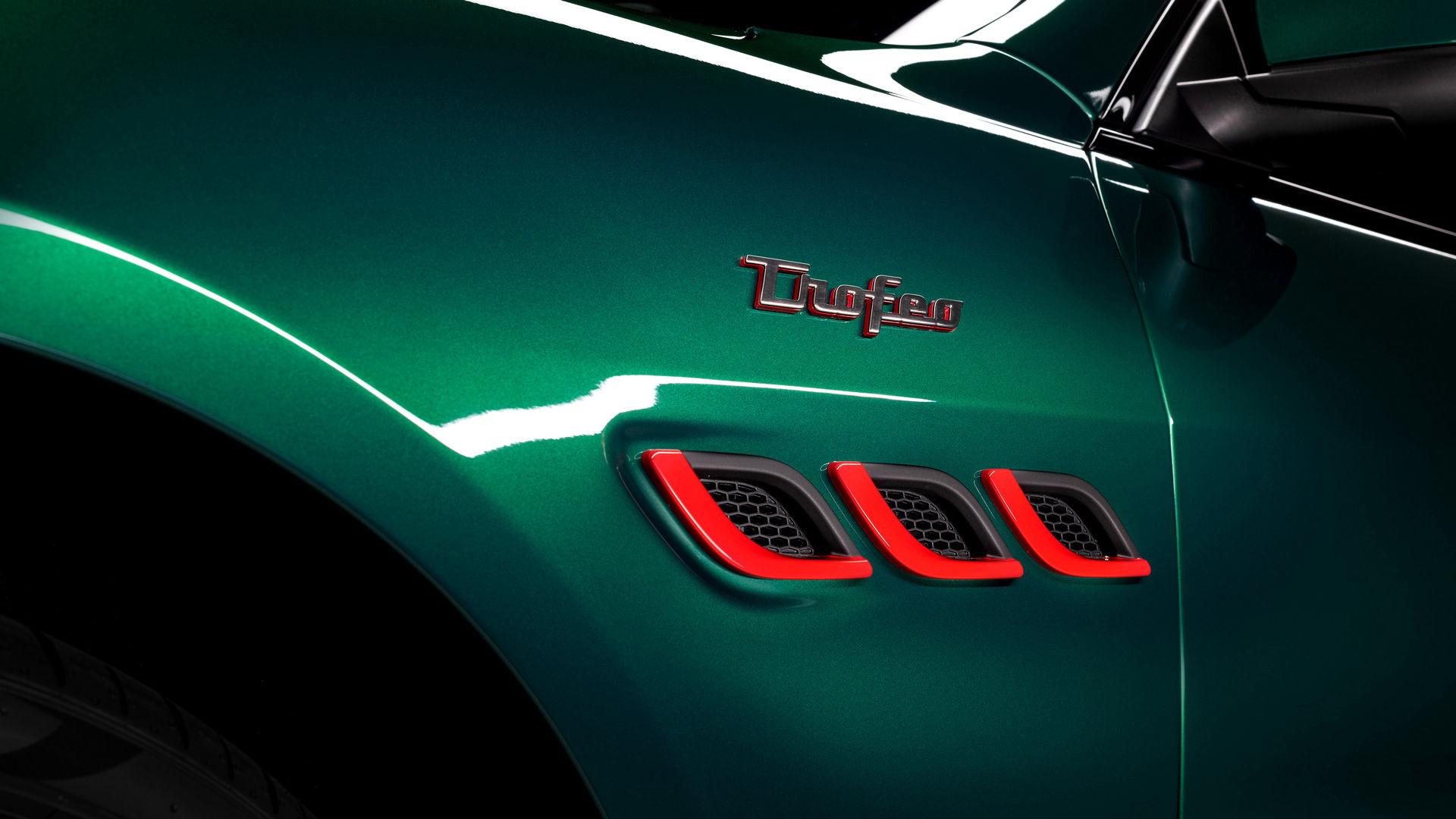 Maserati Quattroporte Trofeo - Grün - Trofeo-Schrift und Lufteinlässe