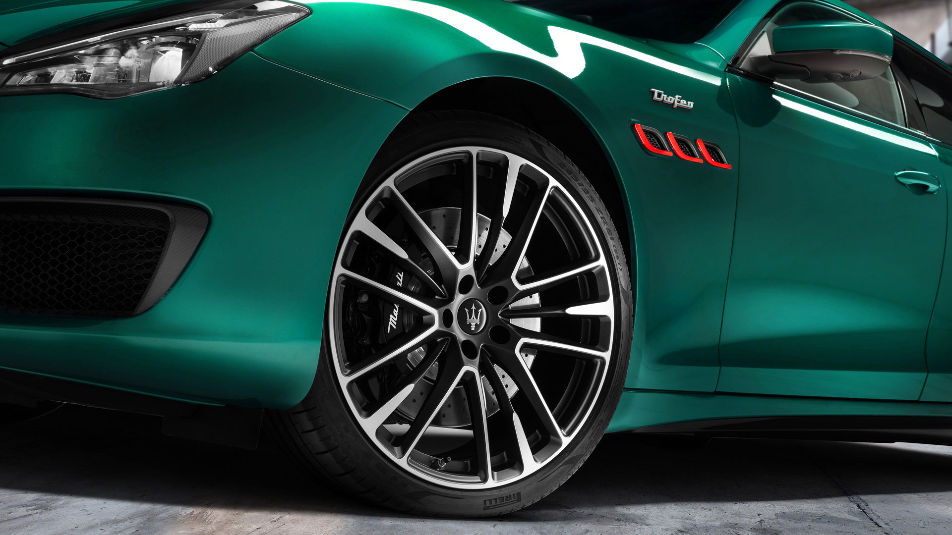 Maserati Quattroporte Trofeo - Grün - Felge