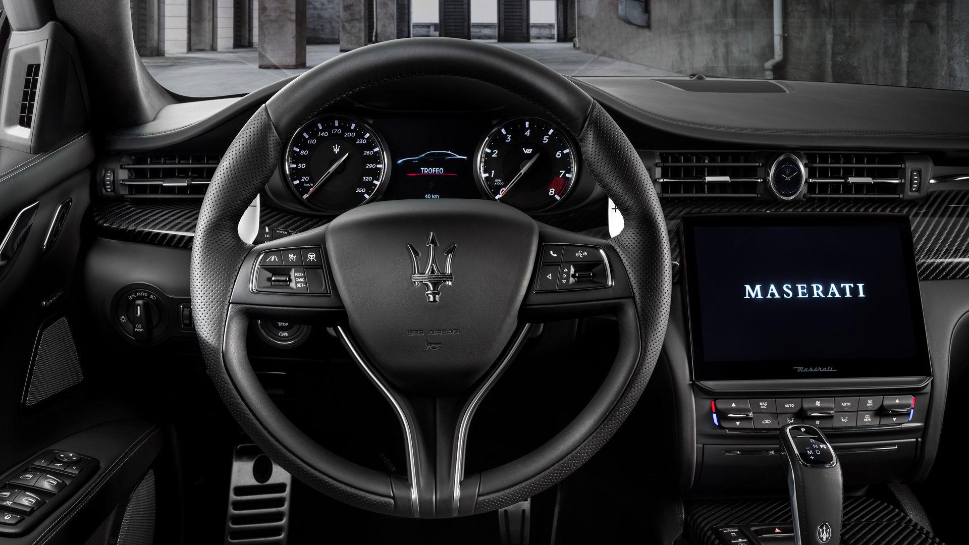 Maserati Quattroporte Trofeo - Lenkrad