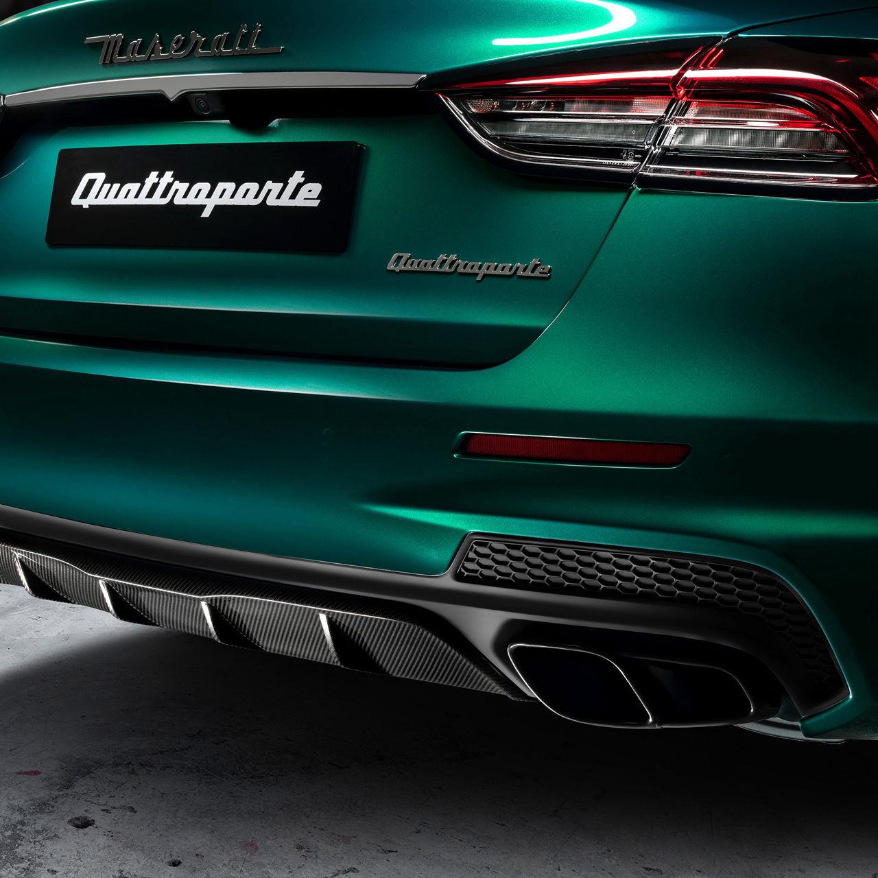 Maserati Quattroporte Trofeo - Grün - Auspuff und Klang