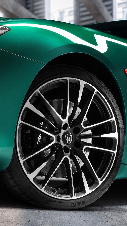Maserati Quattroporte Trofeo - Grün - Felge und Brembo Bremsen