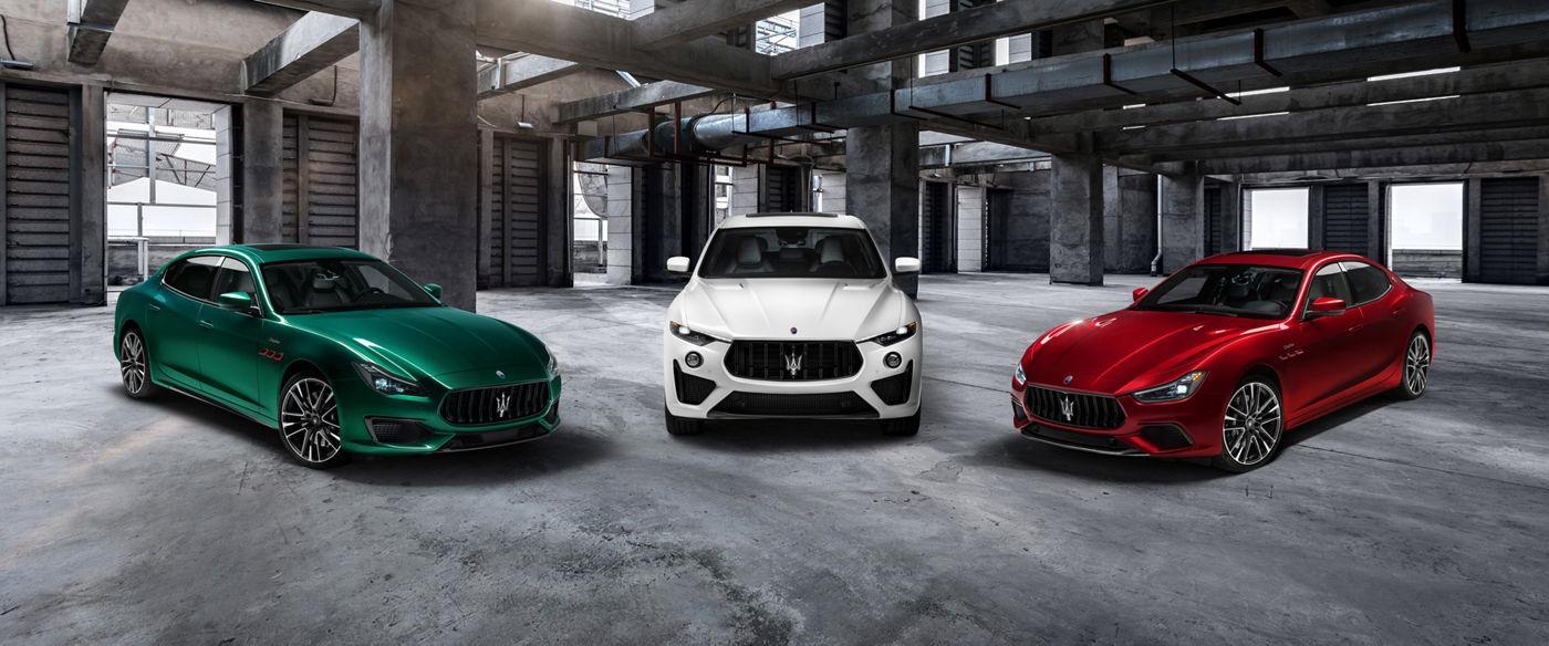 Maserati Trofeo Collection: Ghibli, Quattroporte und Levante