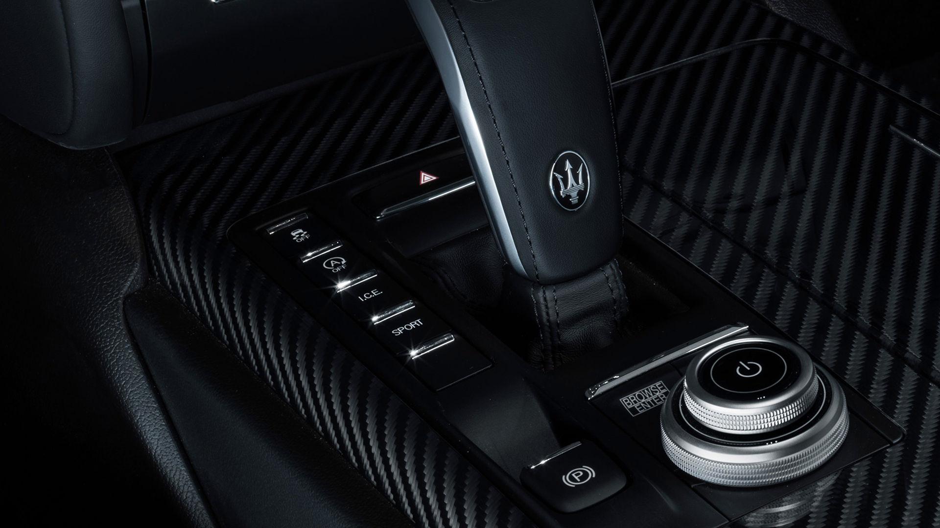 Maserati - Interieur - Automatikgetriebe